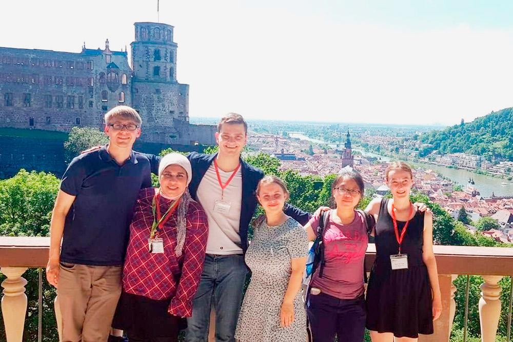 Вместе с другими участниками клуба летом 2019 года я съездила в Гейдельберг на чемпионат немецкоязычных стран по парламентским дебатам. К собственному удивлению, я смогла пройти в финал в категории «немецкий как иностранный»