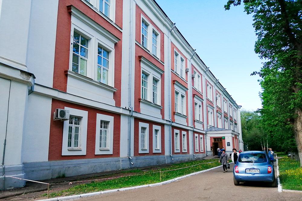 Больница скорой медицинской помощи имени Соловьева