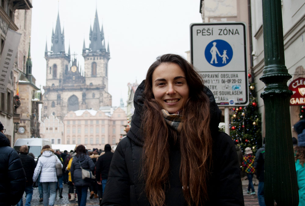 Теперь я студентка Карлова университета и живу в Праге