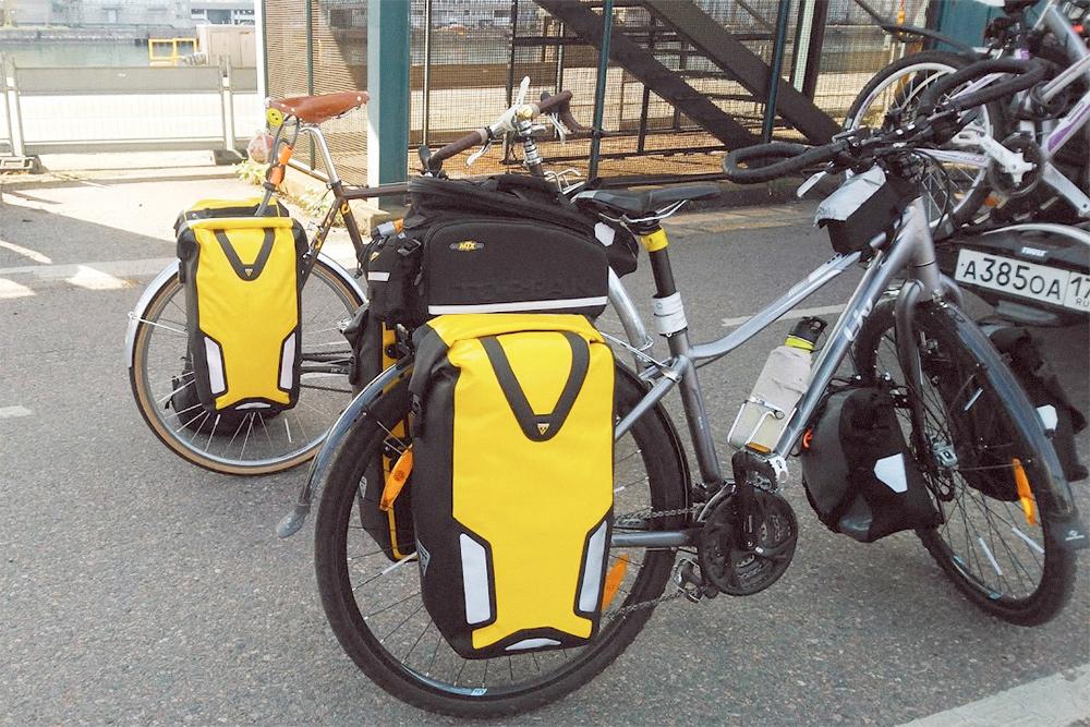 Велосипеды на таможне у парома «Санкт-Петербург — Хельсинки»