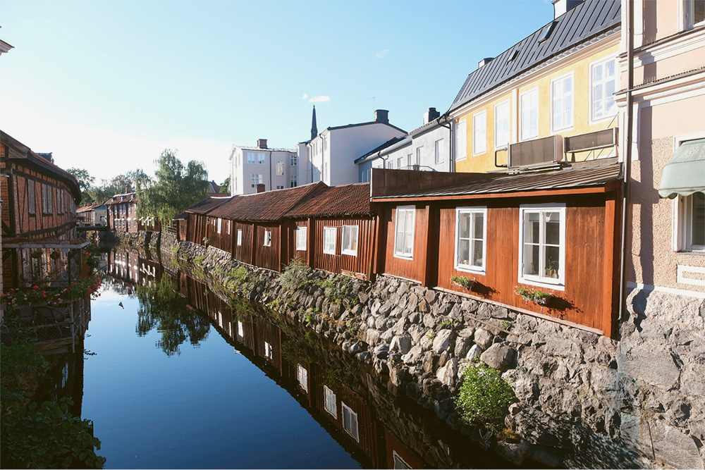 По пути посетили уютный шведский город Вестерос