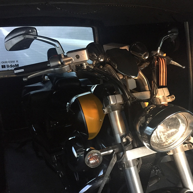Перевозка мотоцикла из Москвы в Курск обошлась мне в 11 000 рублей
