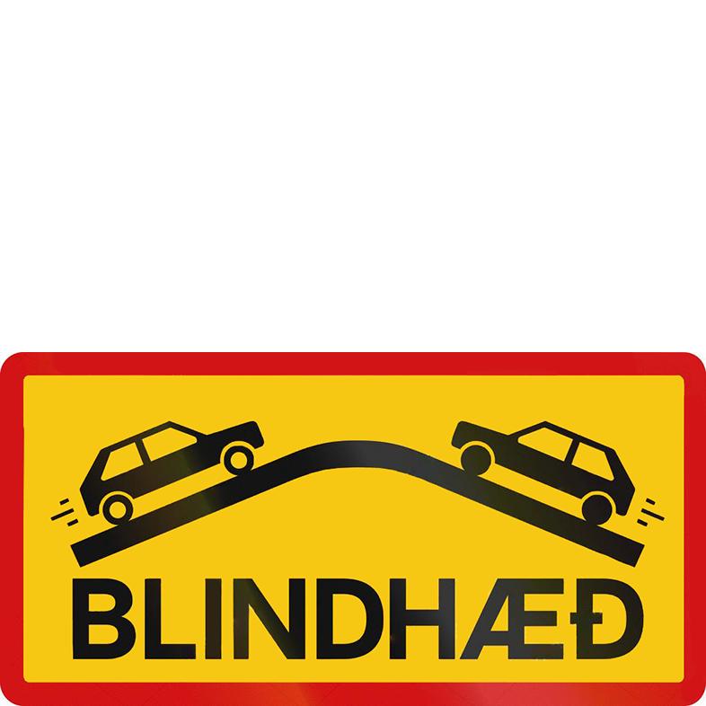 Знак «Слепой холм». Здесь надо быть внимательным и сбросить скорость