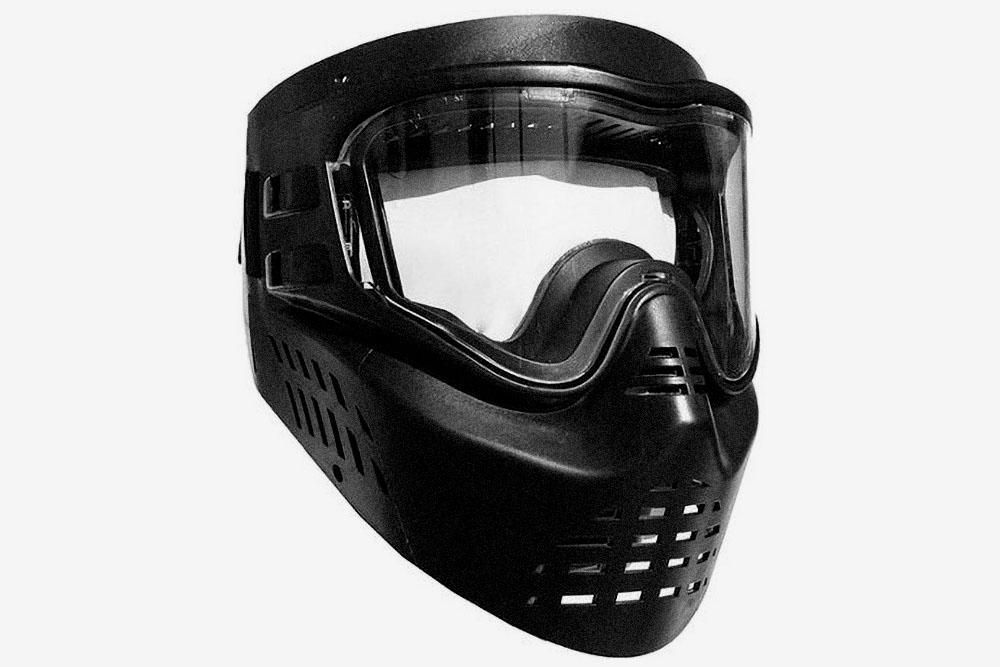 Простая маска прокатного класса с одинарной линзой