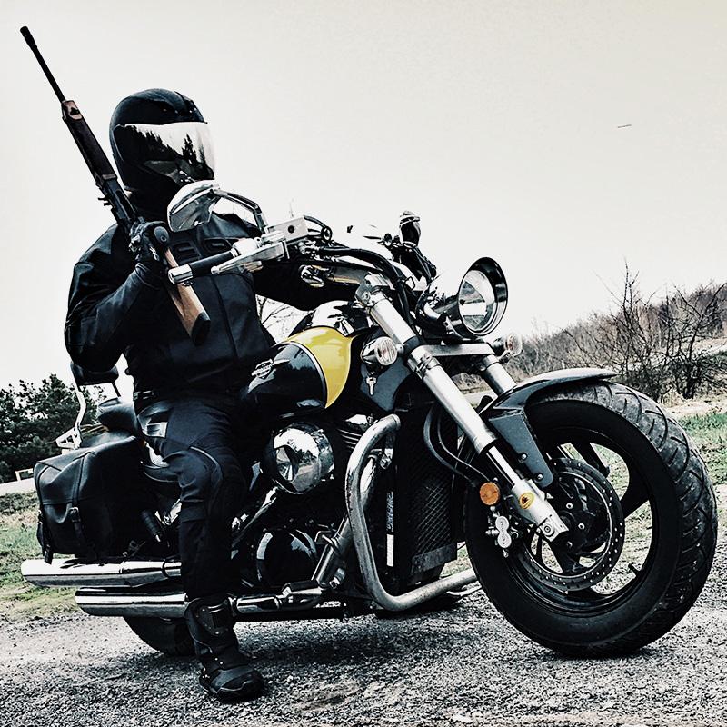 Это я и мой мотоцикл — Suzuki Boulevard M50
