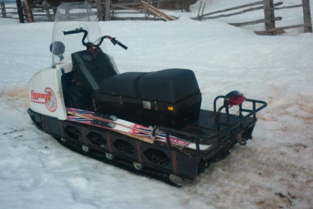 Наш снегоход «Буран»: модель АДЕ марки «Русская механика»