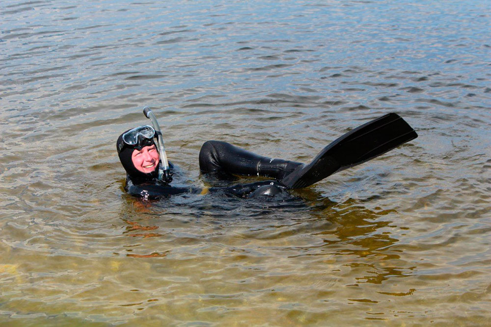Я занимаюсь подводной охотой с 2014 года