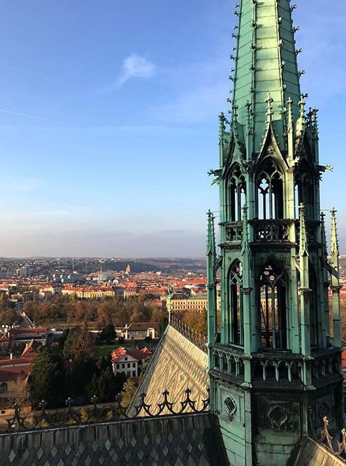 Вид на город с собора Святого Вита