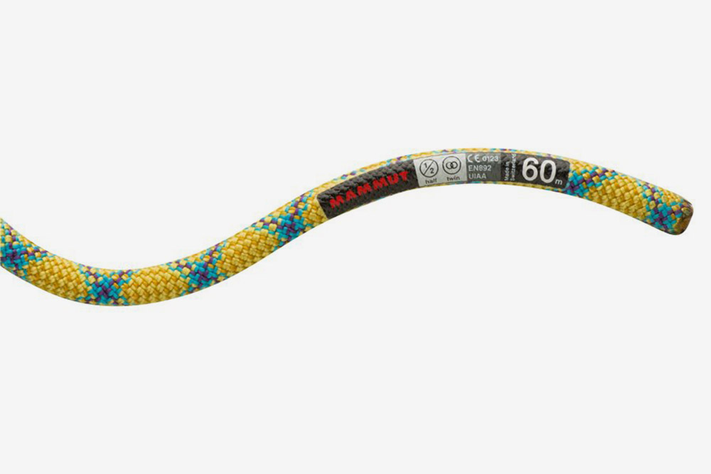 Веревка Mammut 8.0 Phoenix Protect. Стоит 8500<span class=ruble>Р</span>. Фото: «Триал-Спорт»