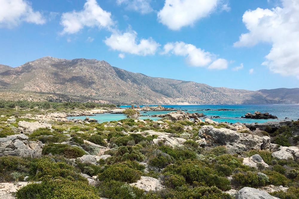 Если пройти 40 минут пешком от пляжа Элафониси, попадете на заповедный пляж Кедродасос с дюнами и можжевельником. Вода там такого цвета, что инстаграм-фильтры кажутся беспомощными
