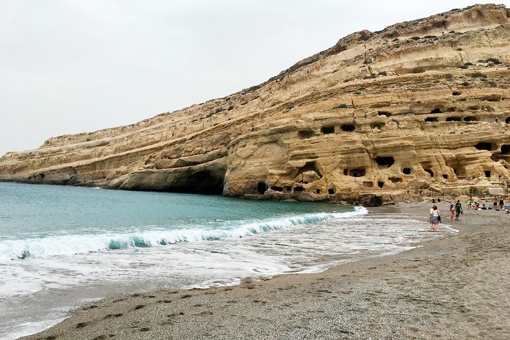 Те самые пещеры. Вход в них стоит 2€