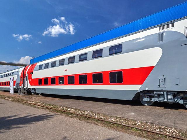 Фирменный поезд Москва — Воронеж. Фото: ОАО «РЖД»