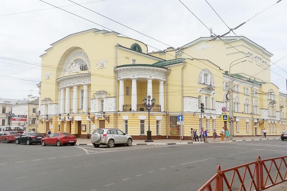 Театр имени Федора Волкова — первый в России профессиональный театр