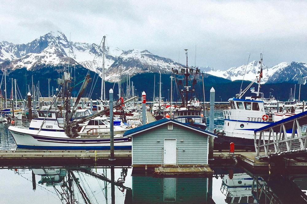 На Аляске красиво