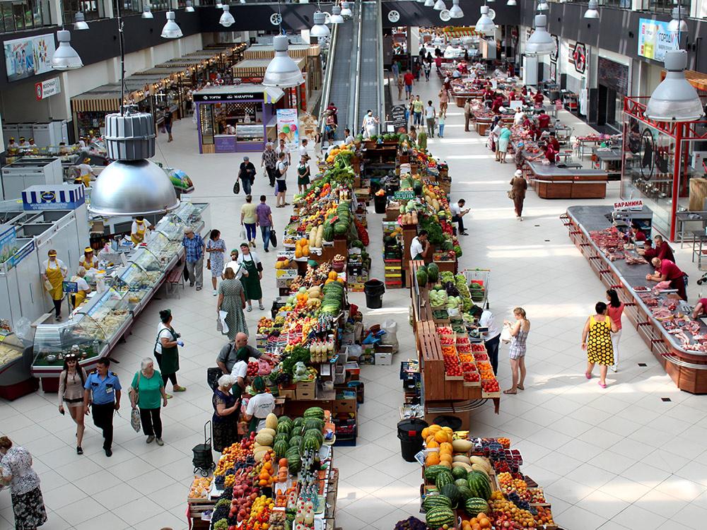 Центральный рынок Воронежа: более красивого и аккуратного рынка я не видел