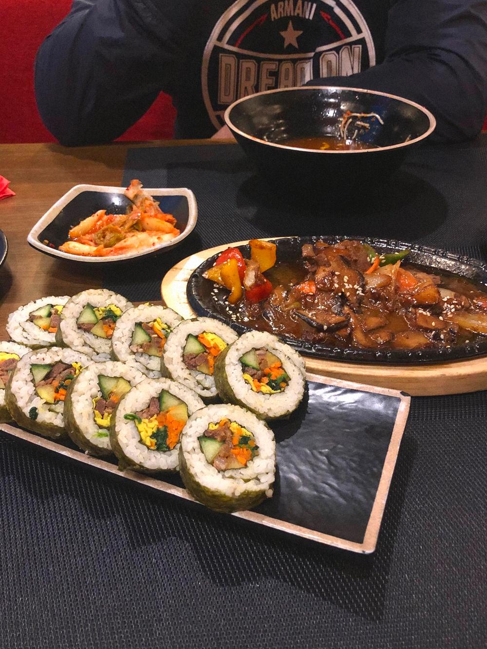 Заказ в корейском ресторане
