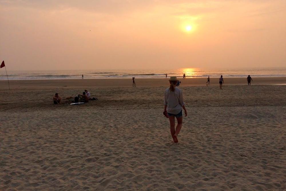 Широкий и спокойный Ашвем — для тех, кто ищет умиротворения на берегу моря