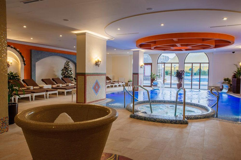 Спа-центр в отеле «Богатырь». Источник: официальный сайт тематического парка «Сочи-парк»