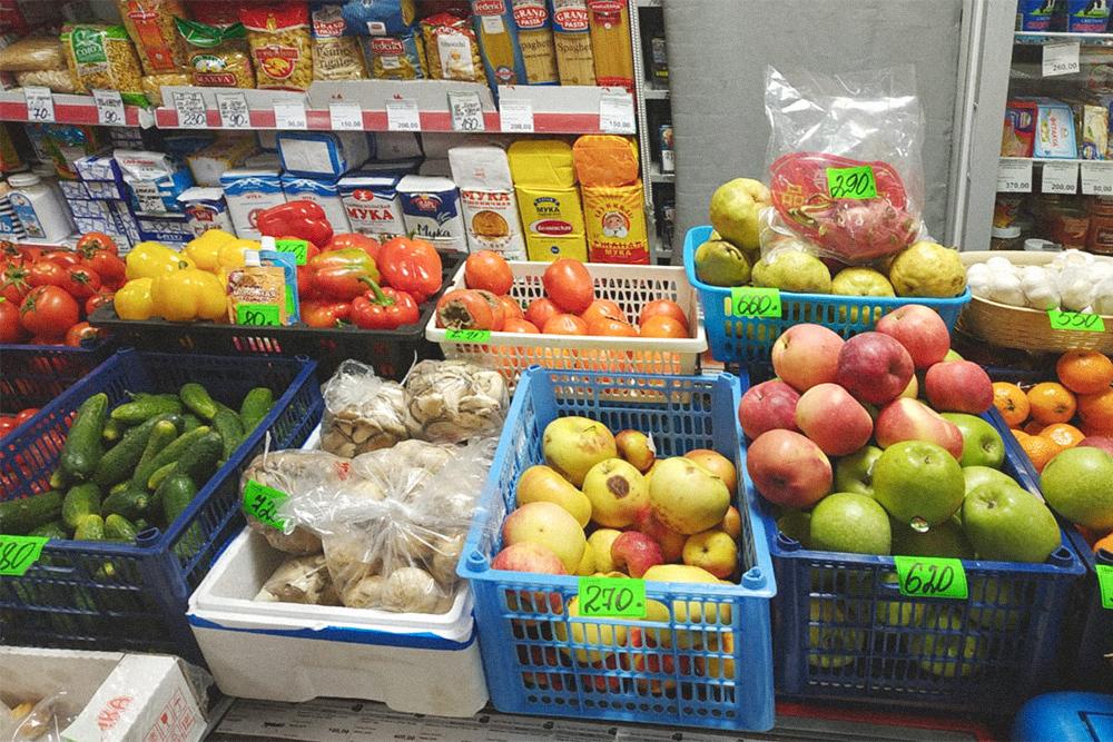 Цены на фрукты