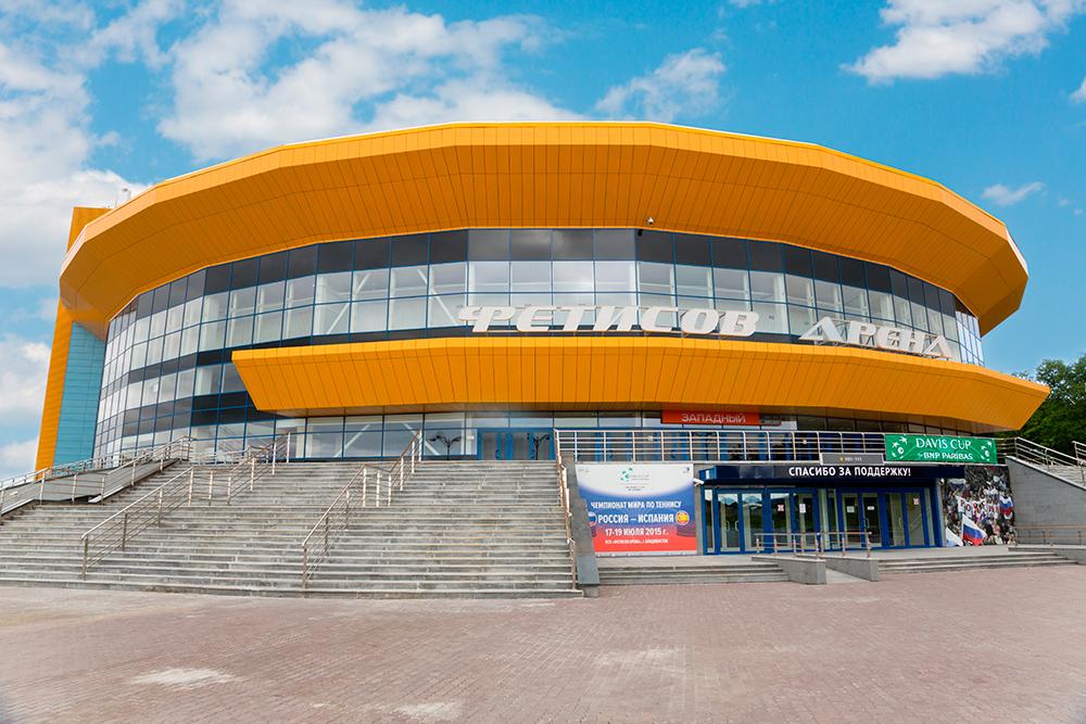 «Фетисов Арена», где проходят домашние матчи хоккейной команды «Адмирал». Фото: Shutterstock