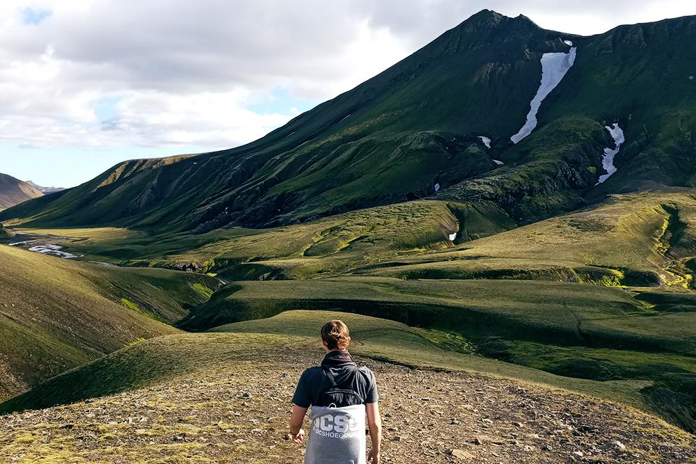Пейзажи в Исландии меняются очень быстро