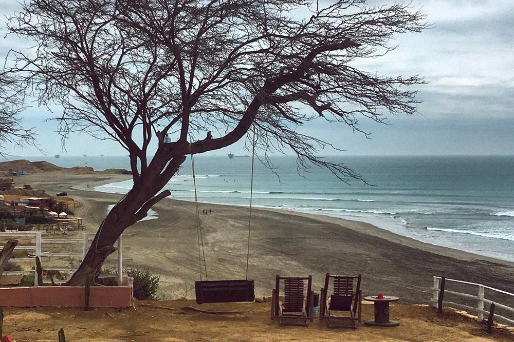 Серф-деревня Лобитос в Перу, май 2018года