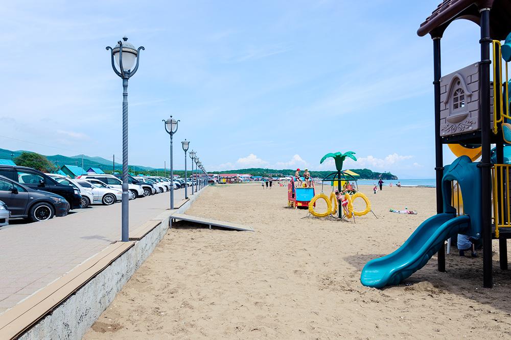 Шамора — самый популярный пляж Владивостока