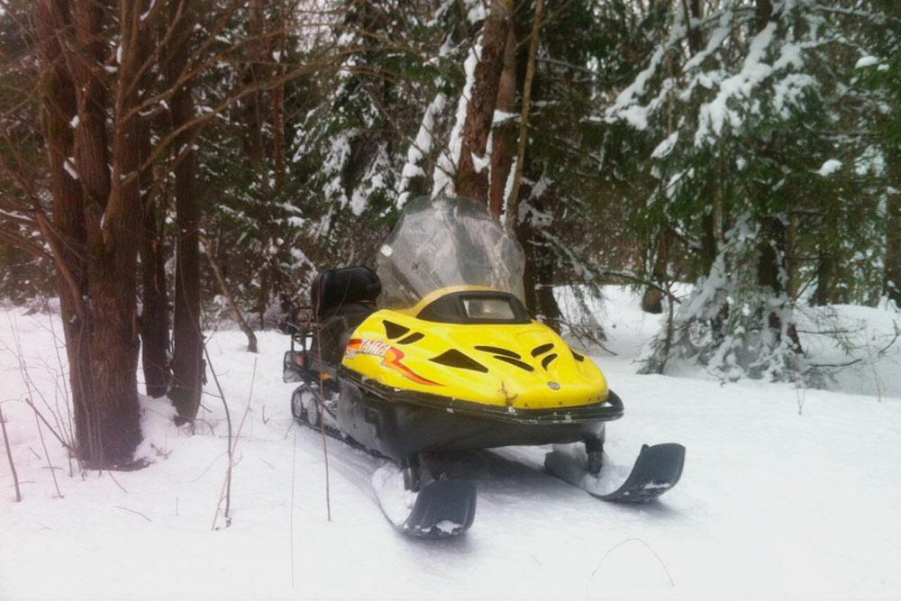 Снегоход с двумя лыжами лучше подходит для езды по открытым пространствам, там он набирает высокую скорость