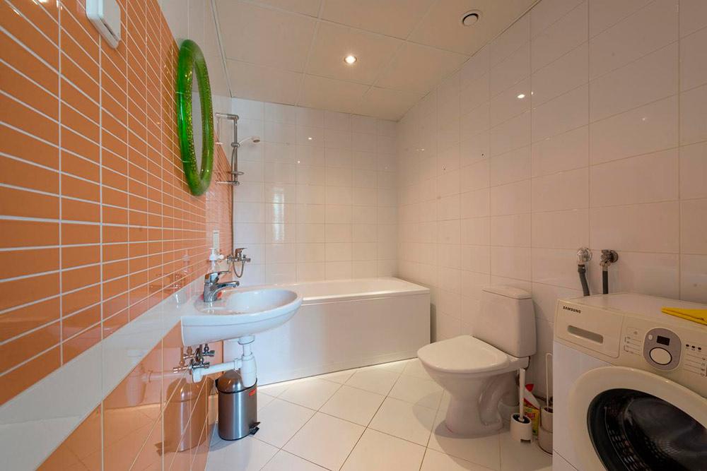 После снежного шторма я отогревалась в горячей ванне. Фото: Booking.com