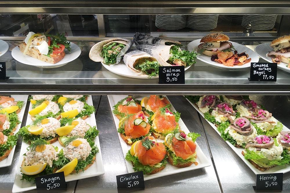 На паромах «Викинг-лайна» самые аппетитные бутерброды