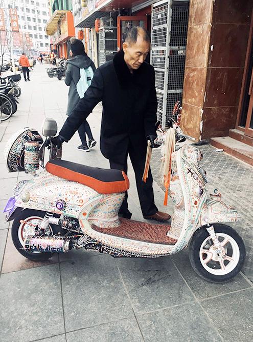 Самый необычный скутер, который я встретила за три года