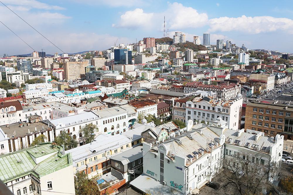 Вид на Владивосток. Фото: Карина Поздняк