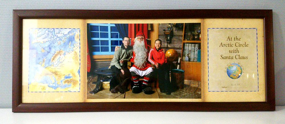Сфотографироваться с Сантой и оформить в рамку — 2000<span class=ruble>Р</span>