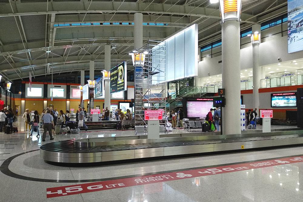 В аэропорту Тбилиси у нас даже не просвечивали багаж