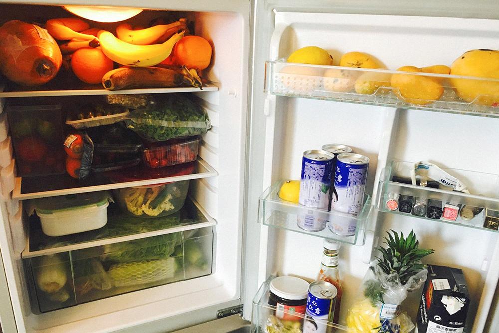 Мой холодильник с запасом еды на неделю