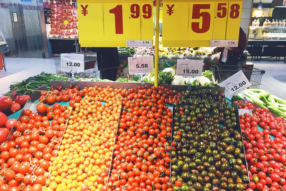 Изобилие помидоров по разным ценам