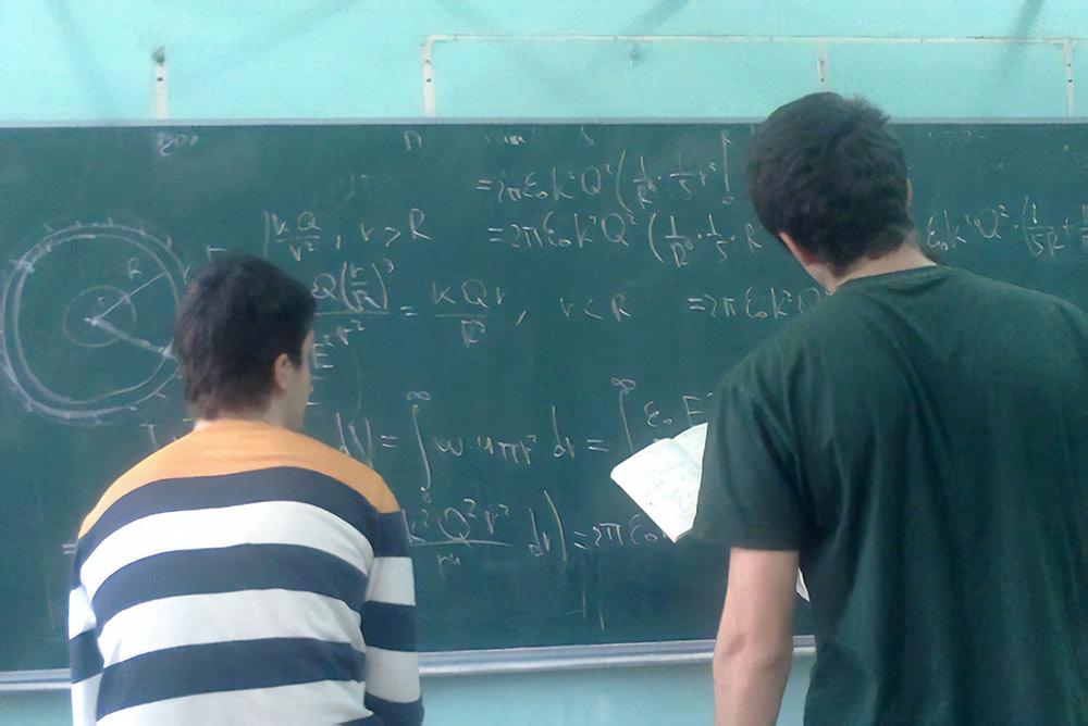 Физический практикум в СУНЦ МГУ