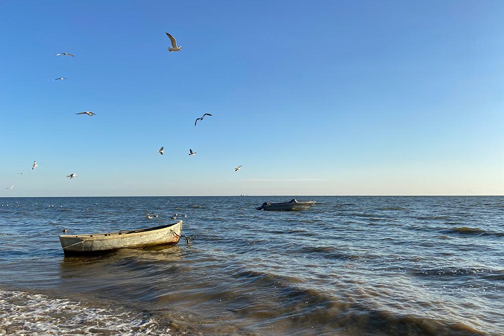 Лодки, на которых пожилые рыбаки все еще выходят в море