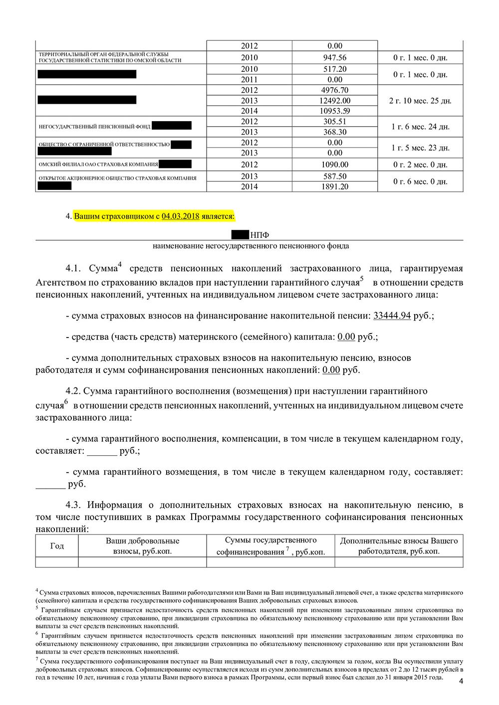 Мой последний договор с НПФ вступил в силу в 2018 году, значит, сменить фонд без потери процентов смогу в 2023 году. Подавать заявление о переходе в НПФ можно за год — в 2022 году