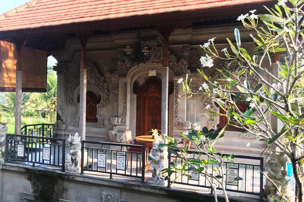 Традиционное жилье на Бали