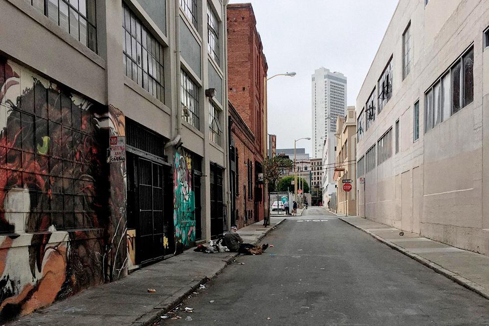 И это тоже Калифорния — Сан-Франциско