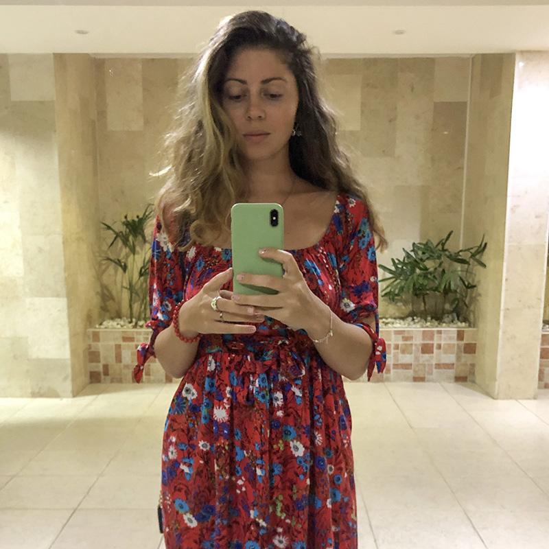 Одна из моих находок в организации «Христиане — друзья Израиля» — яркое и удобное летнее платье