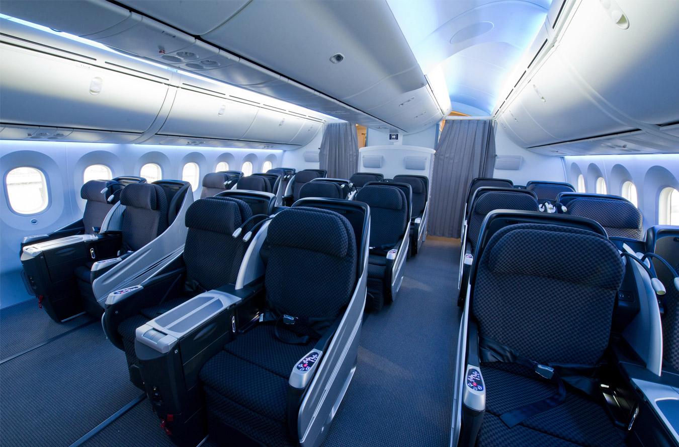 Бизнес-класс в «Джапан-эйрлайнс» в новейшем «Боинг-787-дримлайнер»
