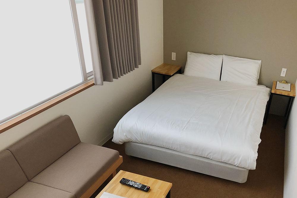 Номер в современном отеле Emblem Flow в Хаконе — 5471<span class=ruble>Р</span> за ночь