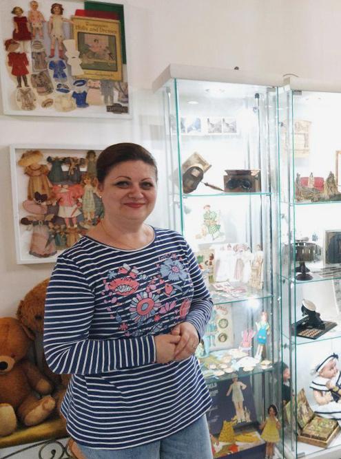 Ирина, основатель музея, сама проводит экскурсии и отвечает на все вопросы