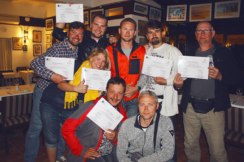 Наша группа получила дипломы