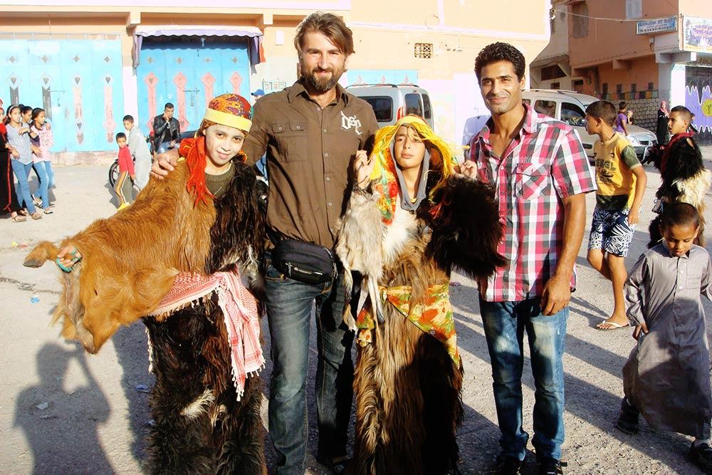 Курбан-Байрам в компании марокканских берберов