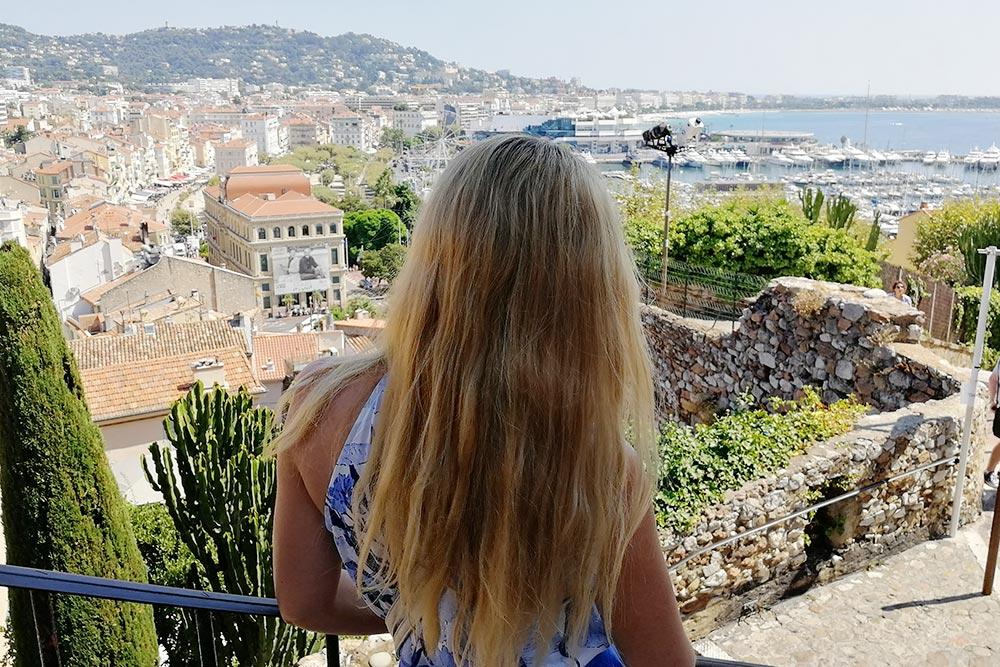 Вид на порт скрепостной стены старого города