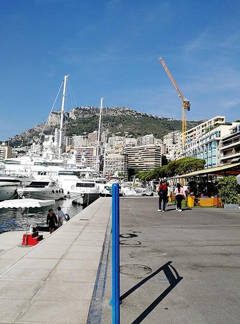 Монако в некоторых районах похож наодну большую стройку