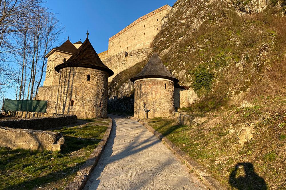 Ворота Тренчинского замка